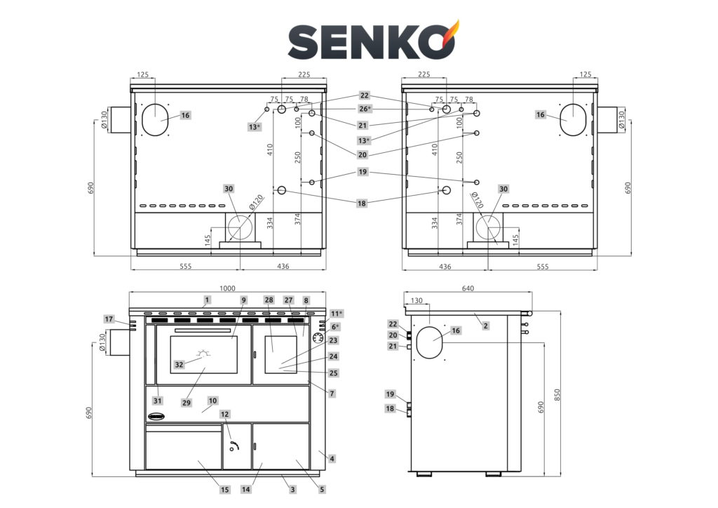 SENKO C-25 scheda tecnica